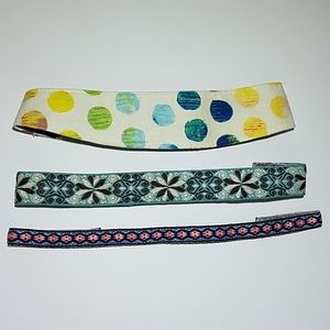 🌺 Banded2gether Headbands Lot of 3